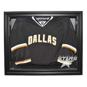 Dallas Stars Hockey Jersey Display Case, Removable Face with Black