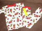 NWT NEW BOYS RESCUE FIRE TRUCK SUMMER PAJAMAS SET 8 items in