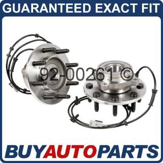 PAIR DODGE RAM 2500 3500 4X4 FRONT WHEEL HUB BEARINGS