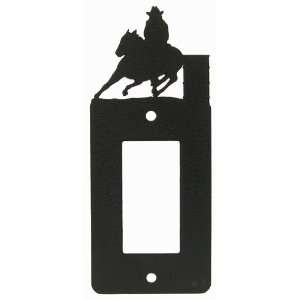 Barrel Race GFI Rocker Light Switch Plate Cover (b)