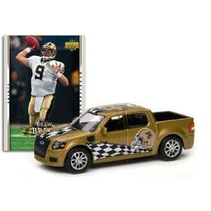 NFL Ford SVT Adrenalin Concept Diecast   Saints with Drew