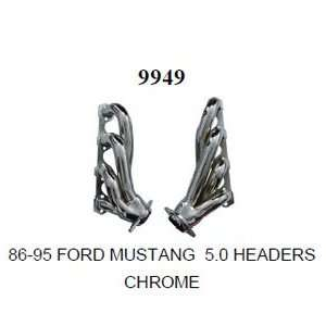 Racing Power R9949 Ford Mustang 5.0 Headers Pr Chrome