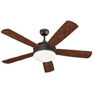 Monte Carlo Hydro Damp Ceiling Fan with Light Kit