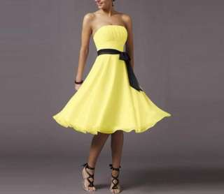 2011 Short mini Party Prom Cocktail dress Women evening dress 3Colors