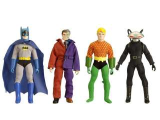 RETRO ACTION DC SUPER HEROES 2 SET OF 4 MEGO EMCEE