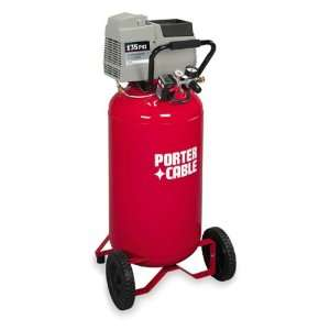 Porter Cable CPF6025VPR 6 HP 25 Gallon Oilless Vertical Air Compressor
