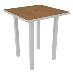Poly Wood® Euro 36 Square Bar Table with Plastíqueâ