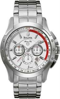 BULOVA MENS MARINE STAR CHRONOGRAPH MENS WATCH 96B013