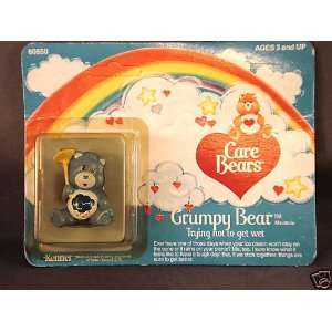 1984 Kenner Care Bears Grumpy Bear Poseable Everything