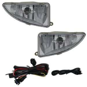 00 05 FORD FOCUS FOG/DRIVING LIGHT KIT CHROME/CLEAR