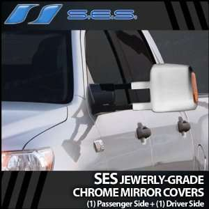 2007 2012 Toyota Tundra SES Chrome Mirror Covers (w/turn signal cutout