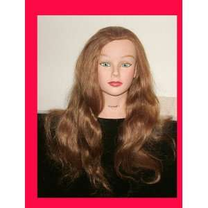 Mannequin Realhair24length Hair Real deluxe mannequin Beauty
