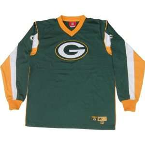 Green Bay Packers Fullback Mens Long Sleeve Shirt Sports