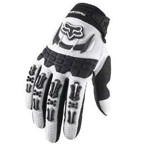 FOX Racing 03176 Pee Wee Dirtpaw MX Glove White KXS(4