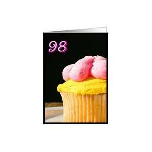 Happy 98th Birthday Muffin Card Toys & Games