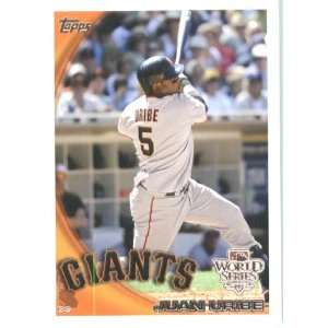 2010 Topps Juan Uribe   San Francisco Giants   Limited