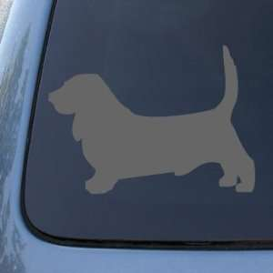 BASSET HOUND   Dog   Vinyl Car Decal Sticker #1489  Vinyl
