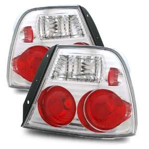 00 02 Hyundai Accent Coupe Chrome Tail Lights Automotive