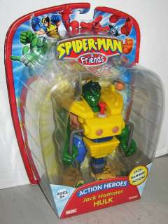 Spider Man & Friends   Jack Hammer HULK