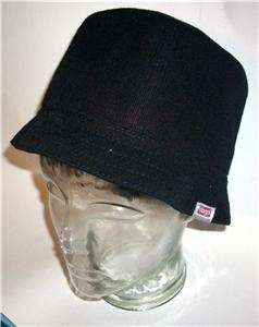 Kangol Worsted Wool High Bin Black Small Size New w/Tags