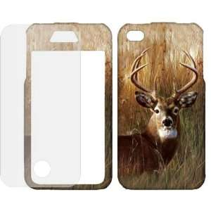 Hunting Deer case cover ( FREE Anti Glare Screen Protector ) Cell