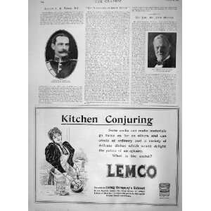 1900 CAPTAIN TOWSE JOHN SHERMAN ADVERTISEMENT LEMCO