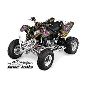 Ed Hardy AMR Racing 2002 2011 Polaris Predator 500 ATV Quad, Graphic
