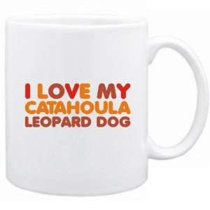 New  I Love My Catahoula Leopard Dog  Mug Dog