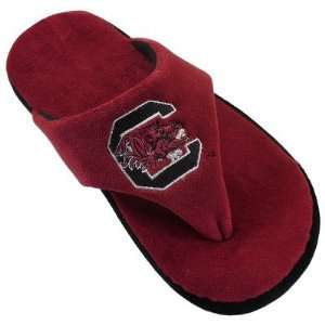 South Carolina Gamecocks USC NCAA Comfy Flip Flop Slipper
