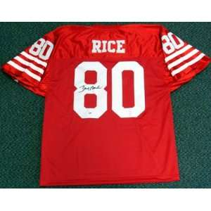 Jerry Rice Autographed SF 49ers Jersey PSA/DNA #F46117