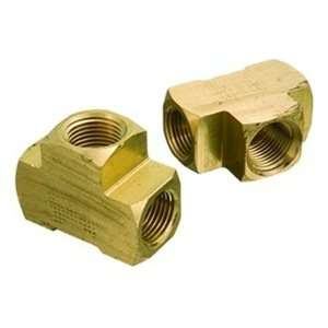 1/8FPT 1.1 OAL 1200psi Brass Pipe Fitting Female Tee