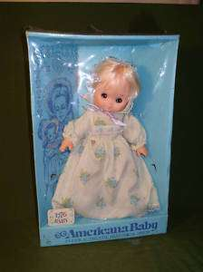 VINTAGE 1776 AMERICAN BABY GOLDBERGER TOY DOLL IN BOX
