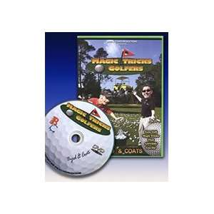 Magic Tricks FORE Golfers DVD Easy Transform Magicians