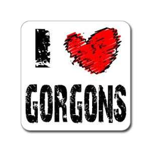 I Love Heart GORGONS   Medusa   Window Bumper Laptop