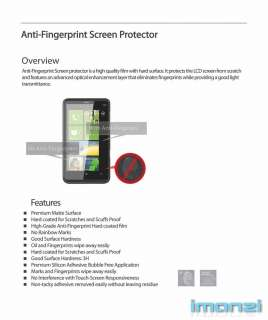 pack Anti Glare anti fingerprint screen protector for Apple iPhone 4