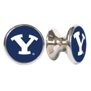 Brigham Young Cougars NCAA Stainless Steel Cabinet Knob / Drawer Pull