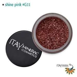Mineral Cosmetic Face and Body Glitter Color Shiney Pink G11 Beauty