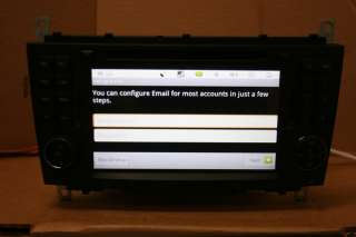 02 08 DYNAVIN D99 ANDROID MERCEDES BENZ C230 C320 GPS NAVIGATION RADIO