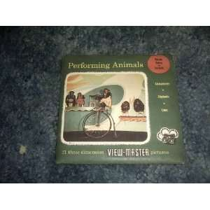 Performing Animals View Master Reels SAWYERS Books