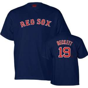 Josh Beckett Majestic Name and Number Boston Red Sox Toddler T Shirt