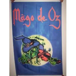 MAGO DE OZ 5x3 Feet Cloth Textile Fabric Poster