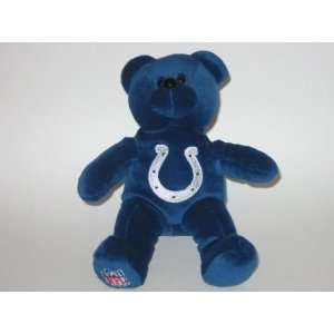 INDIANAPOLIS COLTS Team Logo Plush 8 TEDDY BEAR / BEANIE