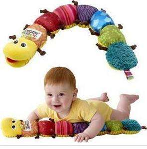 NEW Lamaze Musical Inchworm Soft Lovely Developmental Baby Toy