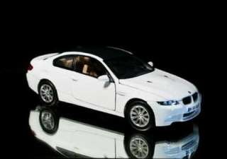 2008 BMW M3 Coupe MOTORMAX Diecast 124 Scale   White