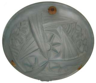 Art Deco Degue Glass Pendant Plafonnier Ceiling Lamp