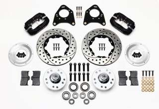 WILWOOD DISC BRAKE KIT,FRONT,74 78 MUSTANG II,11,BLK,D