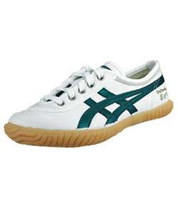 Asics Onitsuka Tiger Womens White/Green Tug O War Shoe