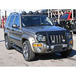 Jeep Liberty Black Front Grille Guard