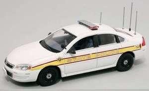 First Response 1/43 Illinois State Police Chevy Impala