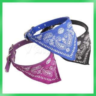 Small Adjustable Pet Dog Cat Bandana Scarf Collar Neckerchief Brand